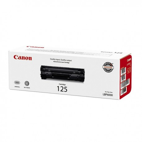 Toner Cartridge 125 Black Canon